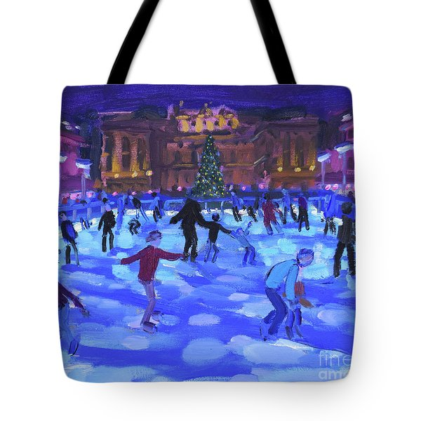 Evening Skaters, Somerset House Tote Bag