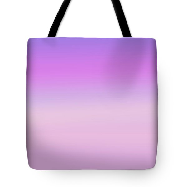 Evening Sky Abstract Tote Bag