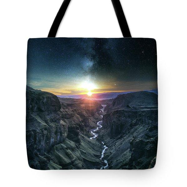 Evening Sky Tote Bag