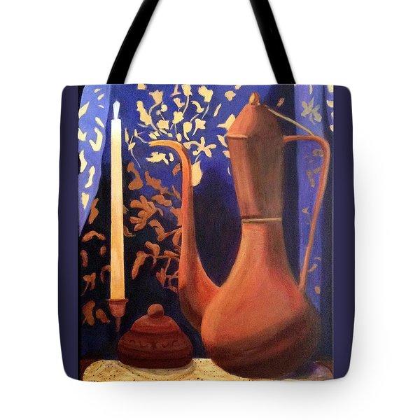 Evening Still Life Tote Bag