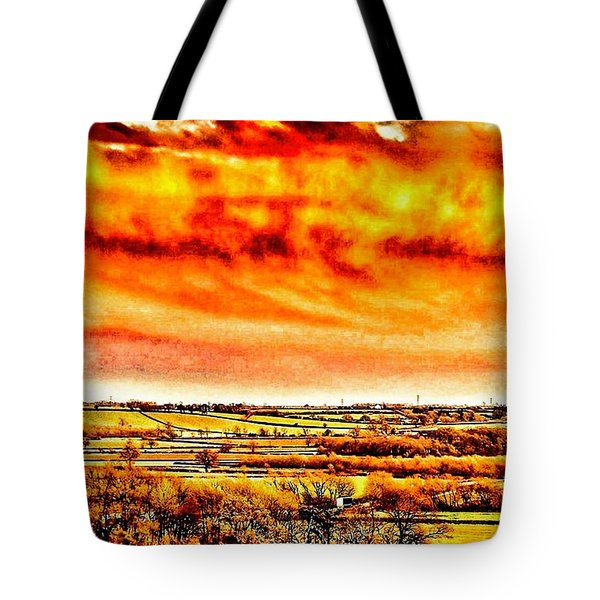 Tote Bag featuring the photograph Evening Sun  by Cliff Norton