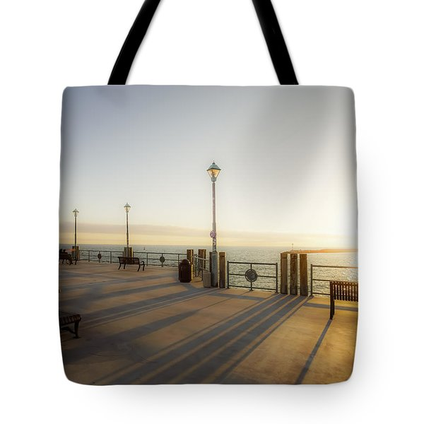 Tote Bag featuring the photograph Evening Sun by Michael Hope