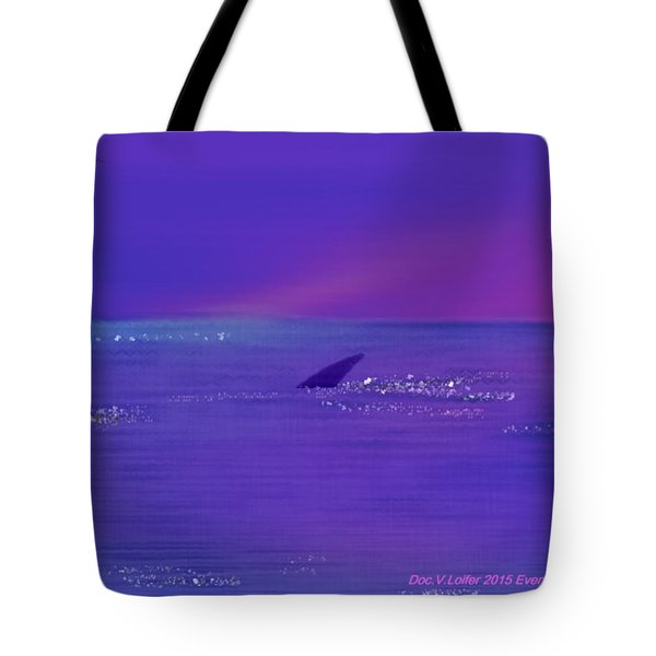 Tote Bag featuring the digital art Evening Surprise by Dr Loifer Vladimir