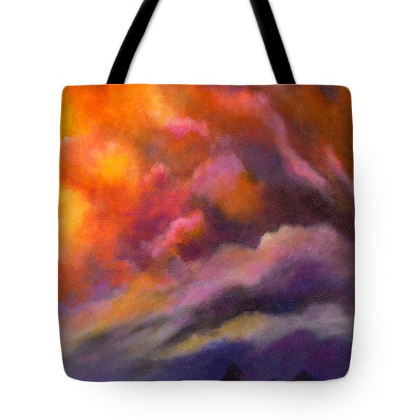 Evening Symphony Tote Bag