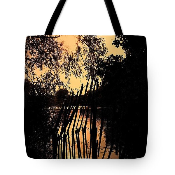 Evening Time Tote Bag