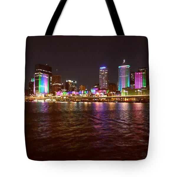 Evening View - Southbank Tote Bag