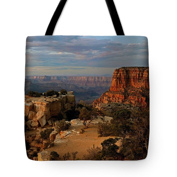 Evening Vista Tote Bag