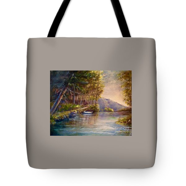 Evening's Twilight Tote Bag