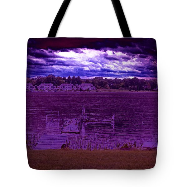 Event At The Bay Tote Bag by Jake Whalen
