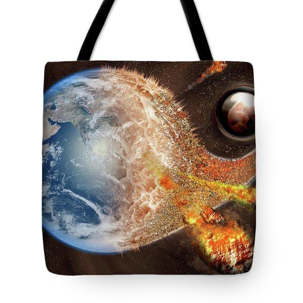 Event Horizon Tote Bag