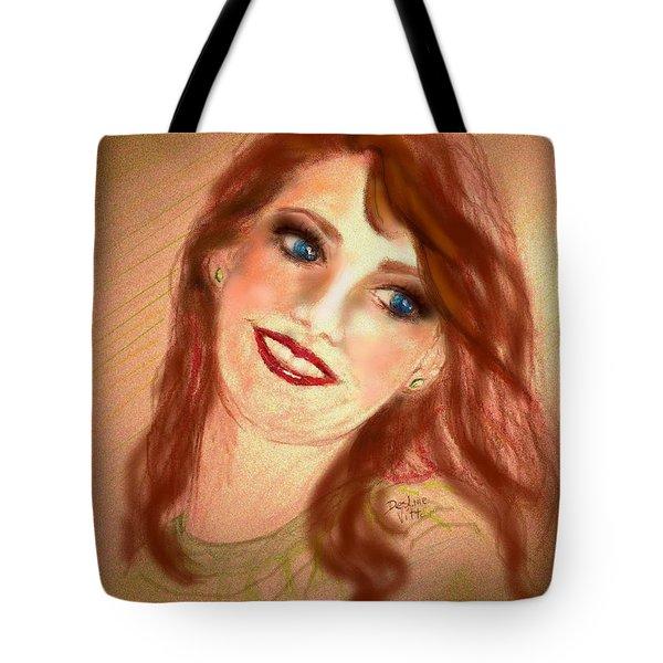 Ever So Softly Tote Bag by Desline Vitto