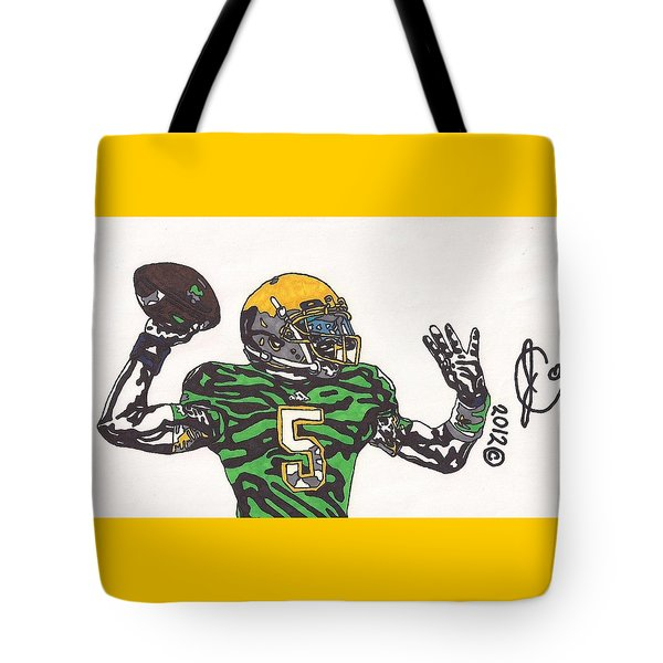 Everett Golson 1 Tote Bag by Jeremiah Colley