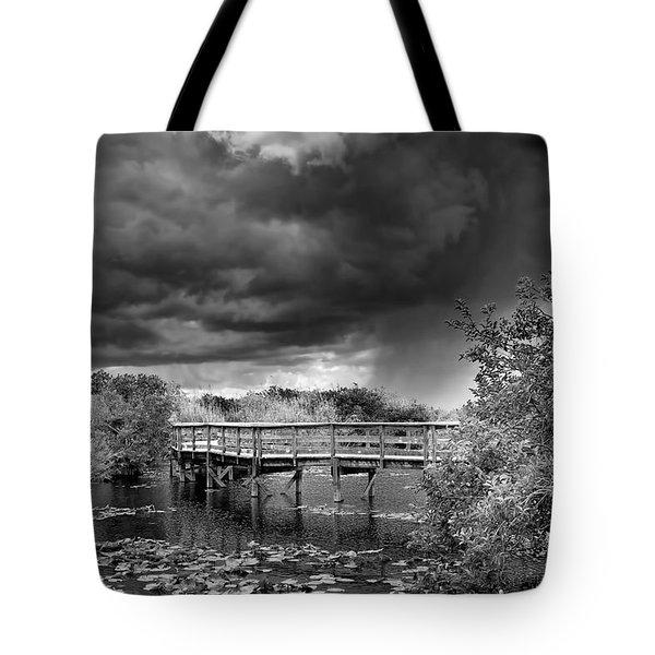 Everglades 0823bw Tote Bag