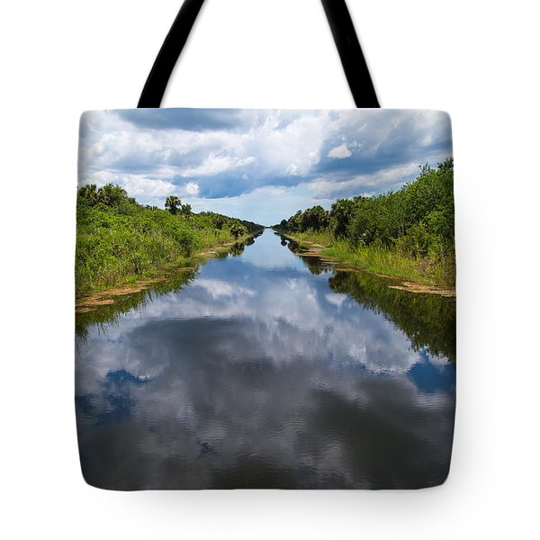Everglades Canal Tote Bag