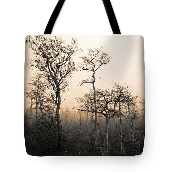 Everglades Cypress Stand Tote Bag
