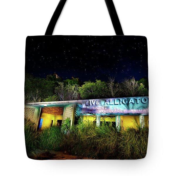 Everglades Gatorland Tote Bag