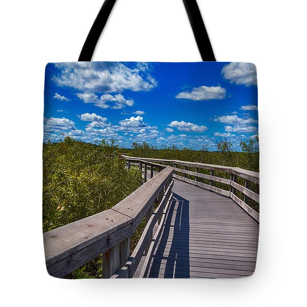 Everglades Trail Tote Bag by Swank Photography