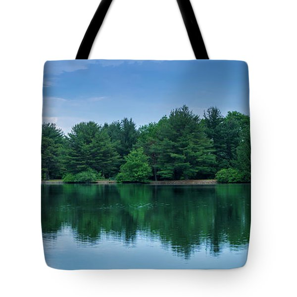 Evergreen Lake Reflections Tote Bag