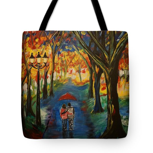 Everlasting Love Tote Bag by Leslie Allen