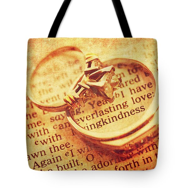 Tote Bag featuring the photograph Everlasting Love by Trina Ansel