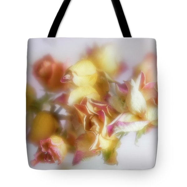 Everlasting Rose Buds Tote Bag
