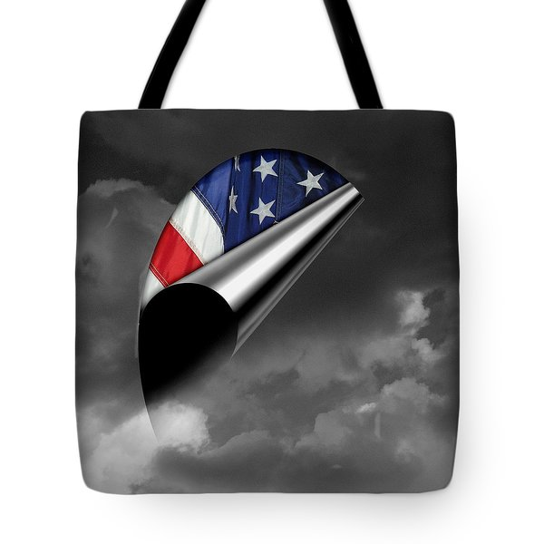 every Cloud has a Lining Tote Bag by Karen Musick