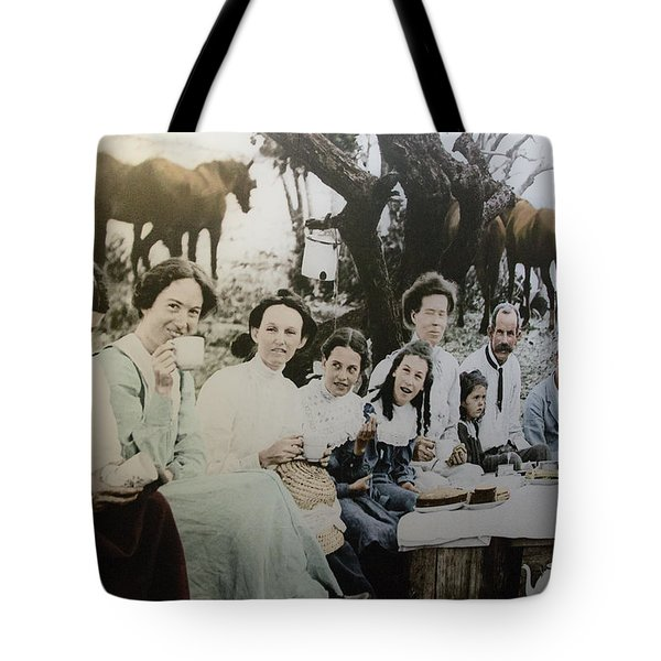 Tote Bag featuring the photograph Every Day Life In Nation In Making by Miroslava Jurcik