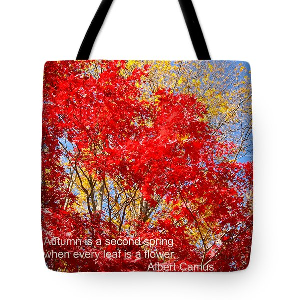 Every Leaf Is A Flower Tote Bag