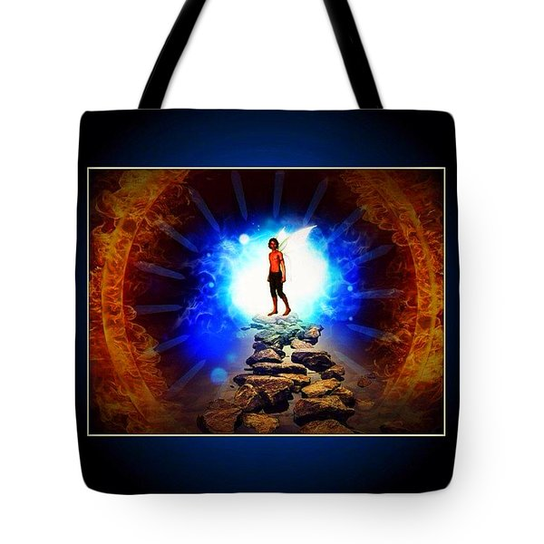 Every Man's Life Is A Fairy Tale Tote Bag