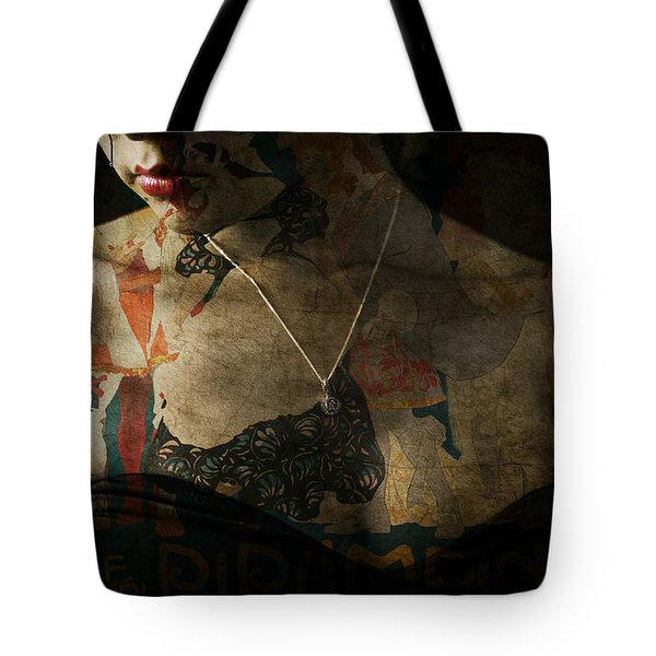 Tote Bag featuring the digital art Every Picture Tells A Story by Paul Lovering