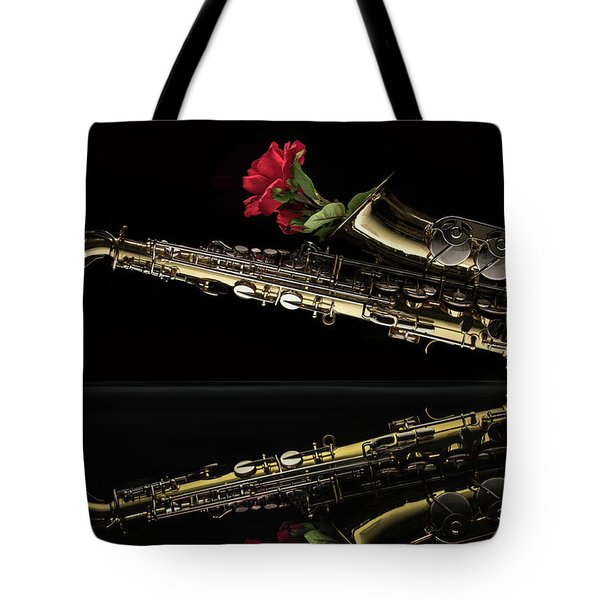 Every Rose Has Its Horn Tote Bag