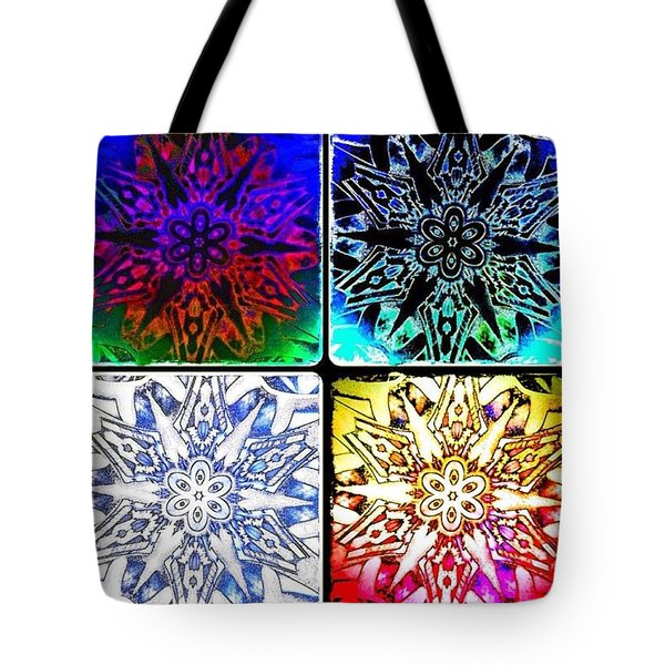 Every Snowflake Is Unique Tote Bag