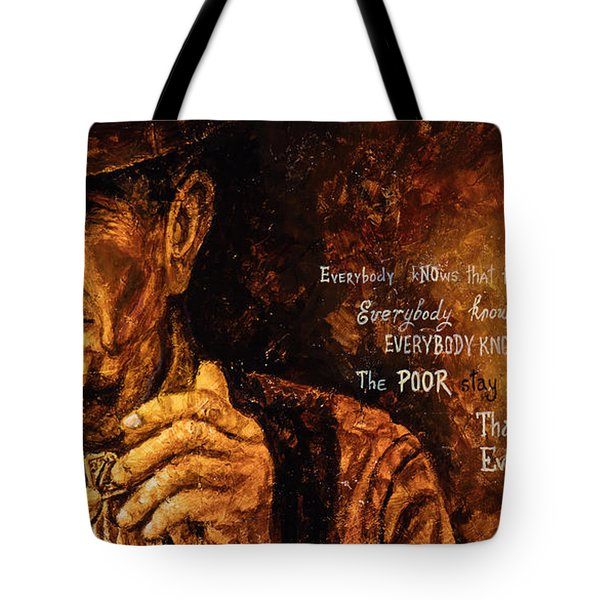 Everybody Knows Tote Bag by Igor Postash