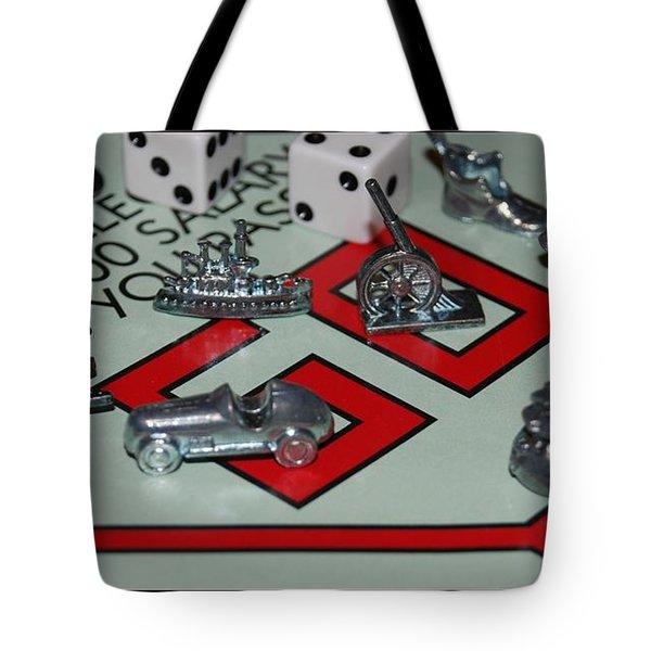 Everyone Pass Go Tote Bag