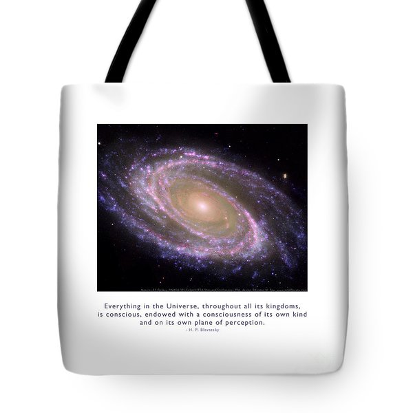 Tote Bag featuring the photograph Everything Is Conscious by Kristen Fox