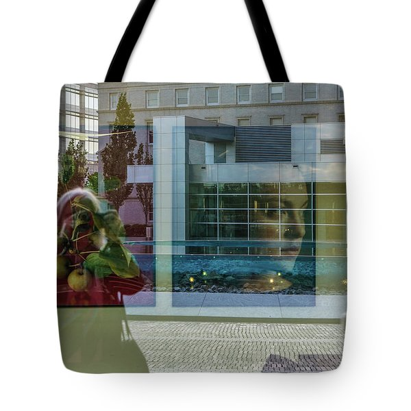 Everything Is Inside Out Tote Bag