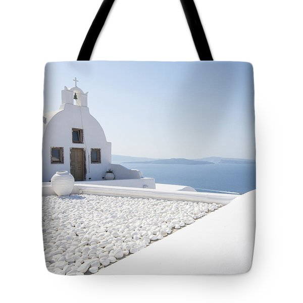 Everything Is White Tote Bag
