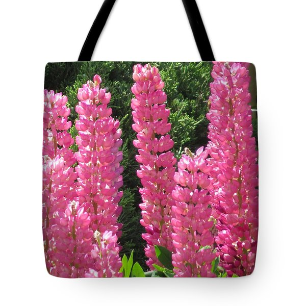 Tote Bag featuring the photograph Everything Pink by Jeanette Oberholtzer