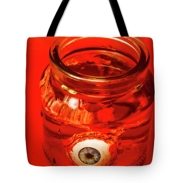 Everything You Know Is A Leye Tote Bag