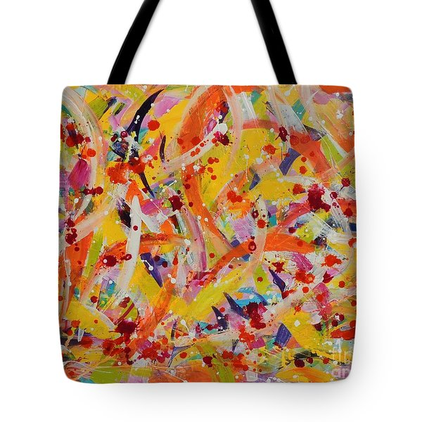Everywhere There Are Fish Tote Bag