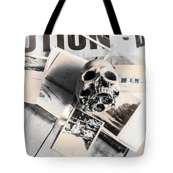 Evidence Of Old Crimes Tote Bag