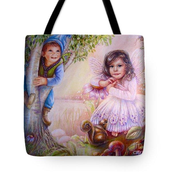 Evie And Luke Tote Bag