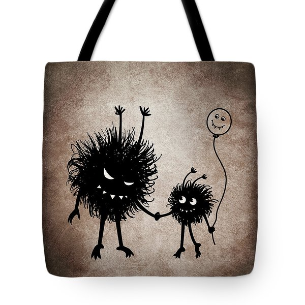 Evil Bug Mother And Child Tote Bag