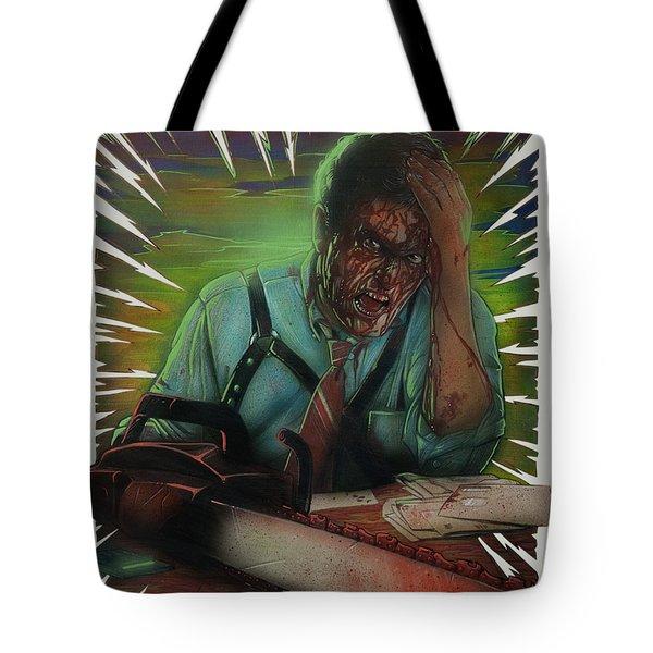 Evil Debt Tote Bag