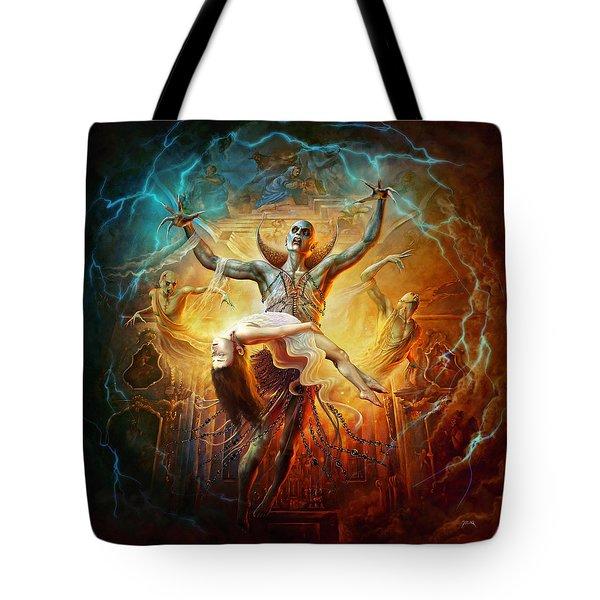 Evil God Tote Bag