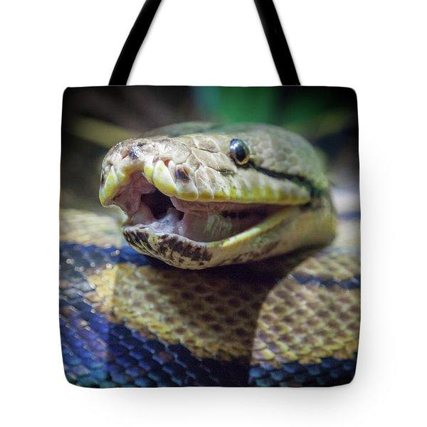 Evil In The Garden Tote Bag