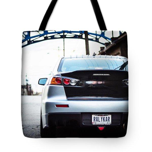 Evo X  Tote Bag