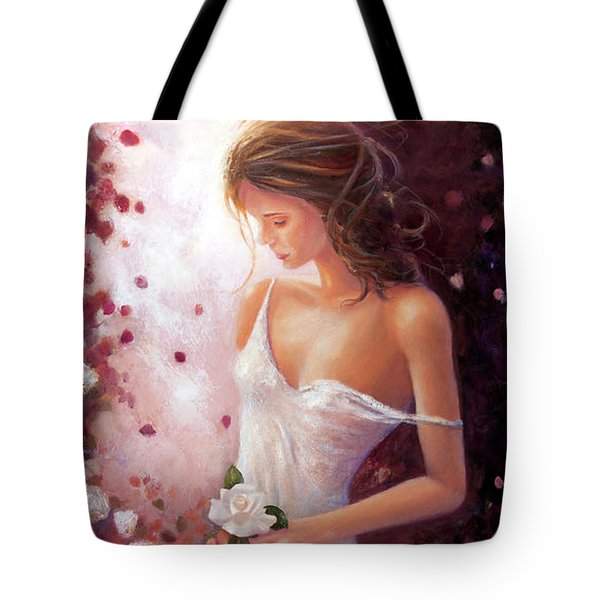 Evocative Scent Of A Summer Rose Tote Bag by Michael Rock