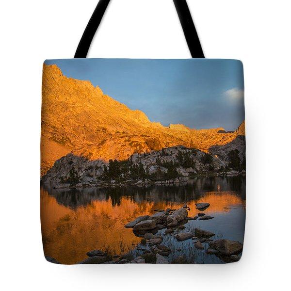 Evolution Basin Sunset Tote Bag