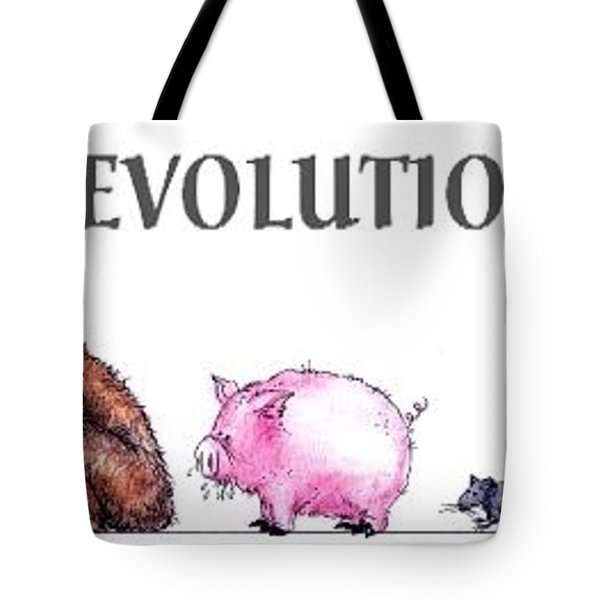 Evolution Tote Bag by Bruce Lennon